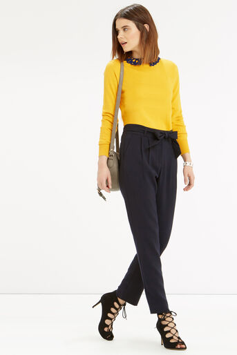 Oasis, The Sweet Collared Sweater Ochre 2