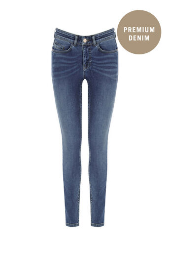 Oasis, Sculpting Slim Leg Jeans Denim 0