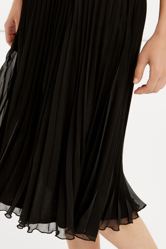 Oasis, Pleated Skirt Black 4