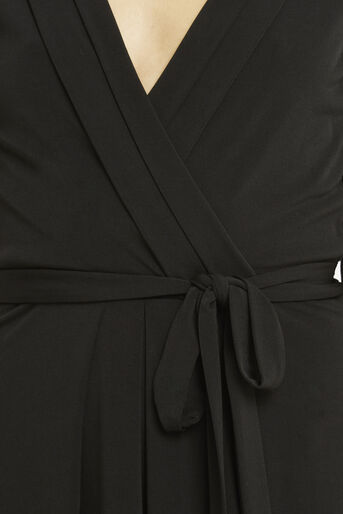 Oasis, Wrap Dress Black 4