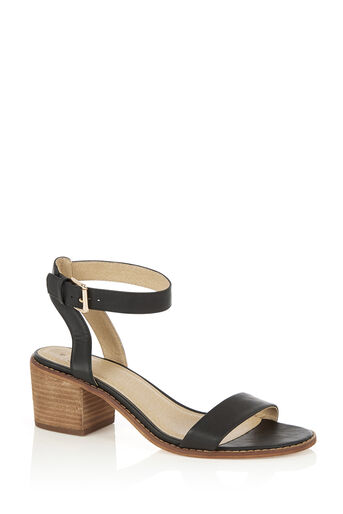 Oasis, BROOKE BLOCK HEEL Black 0