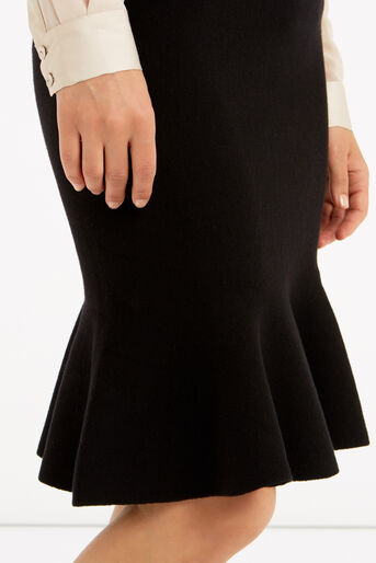 Oasis, Fishtail skirt Black 4
