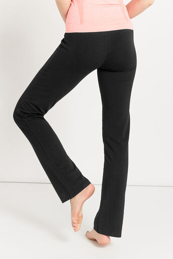 Oasis, Pineapple Straight Cut Trouser Black 3