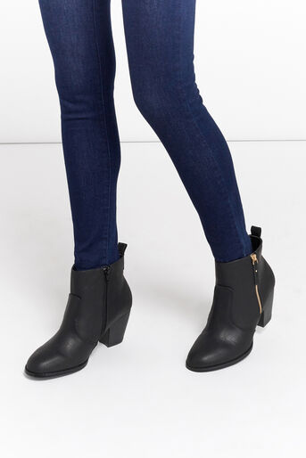 Oasis, ABIGAIL ANKLE BOOT Black 1
