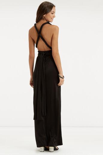 Oasis, The Wear it Your Way Dress Black 3