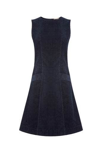 Oasis, CUT ABOUT CORD DRESS Navy 0