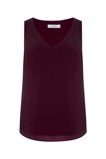 Oasis, HIGH BACK VEST Berry 0