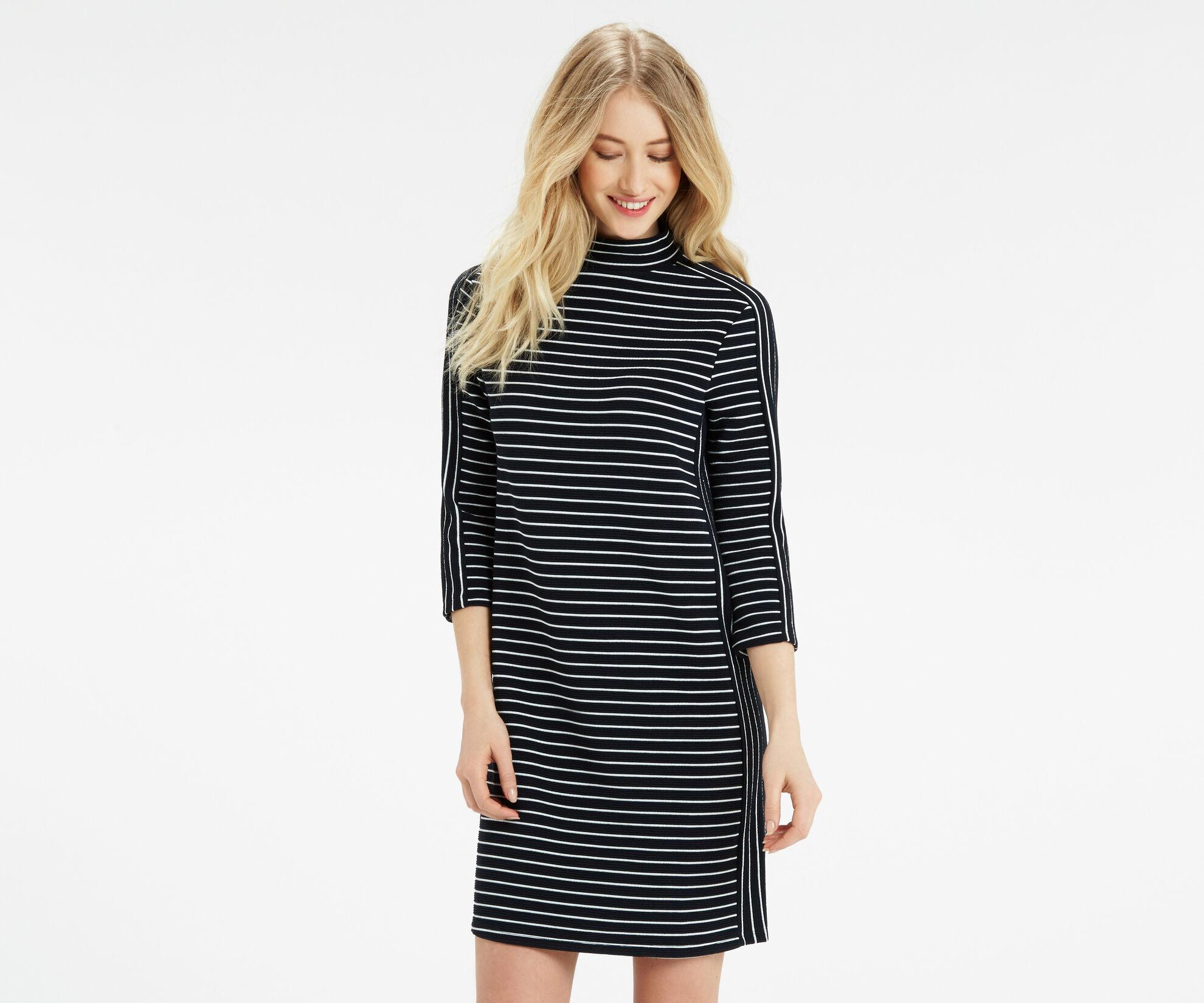 Oasis, Stripe Shift Dress Multi 1
