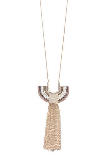 Oasis, Mosaic Pendant Necklace Multi 0