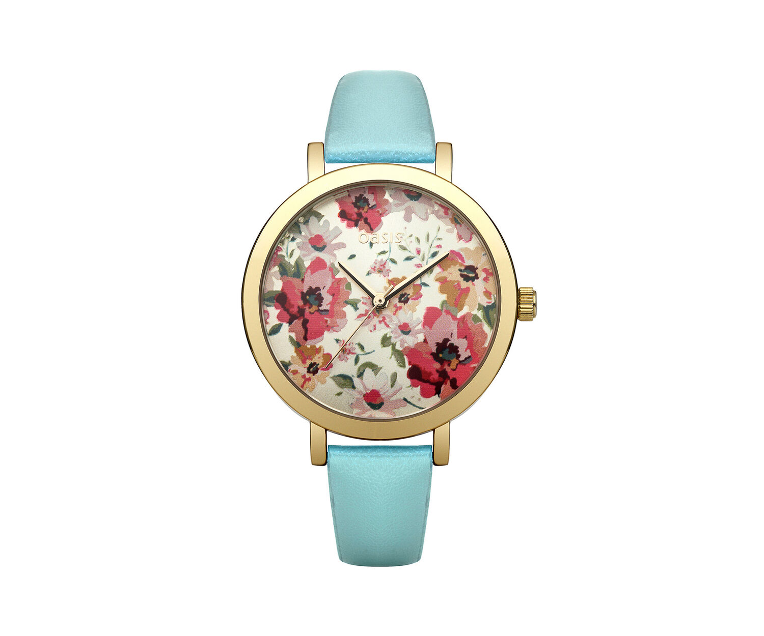 Oasis, Floral Dial Watch Pale Green 0