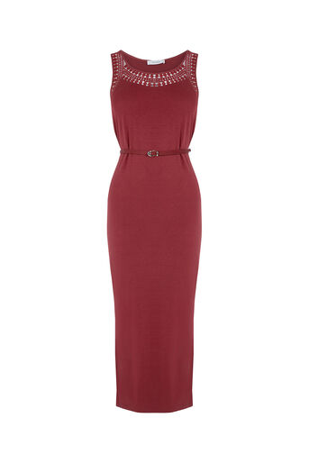 Oasis, Trimmed Scoop Midi Mid Brown 0