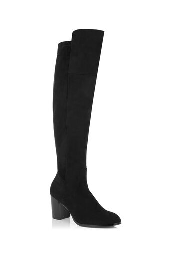 Oasis, BETTY OVER THE KNEE BOOT Black 0