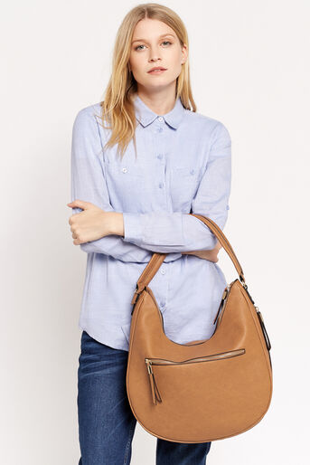 Oasis, ROS HOBO BAG Tan 1