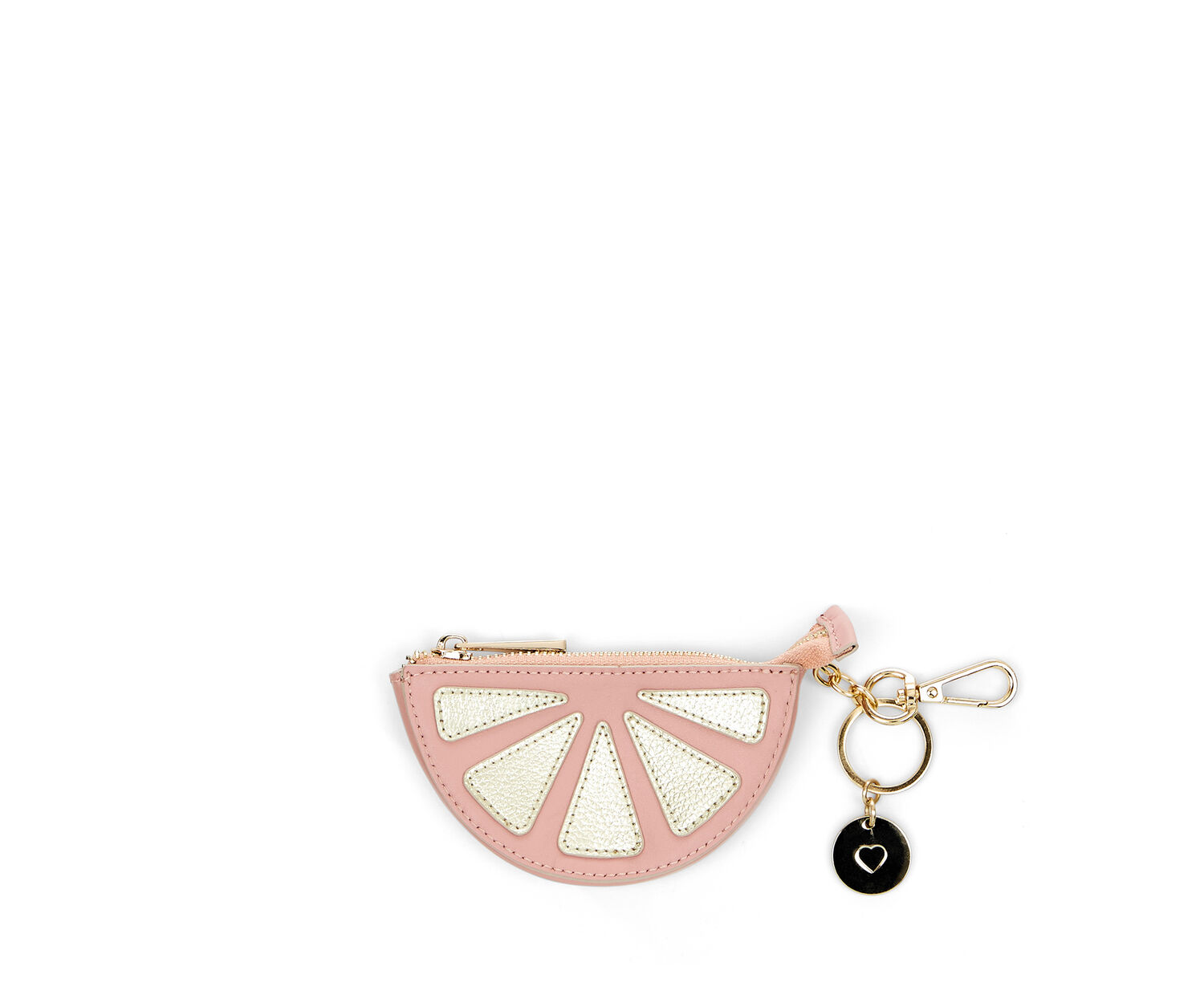 Oasis, LEATHER COIN PURSE GRAPEFRUIT Pale Pink 1