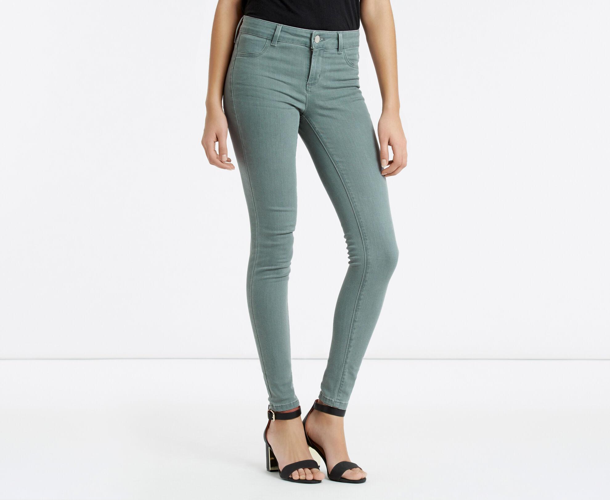 Oasis, Jade Skinny Jeans Pale Grey 1