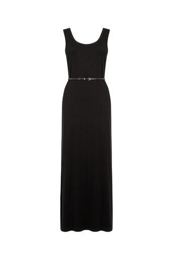 Oasis, Vest Maxi Dress Black 0