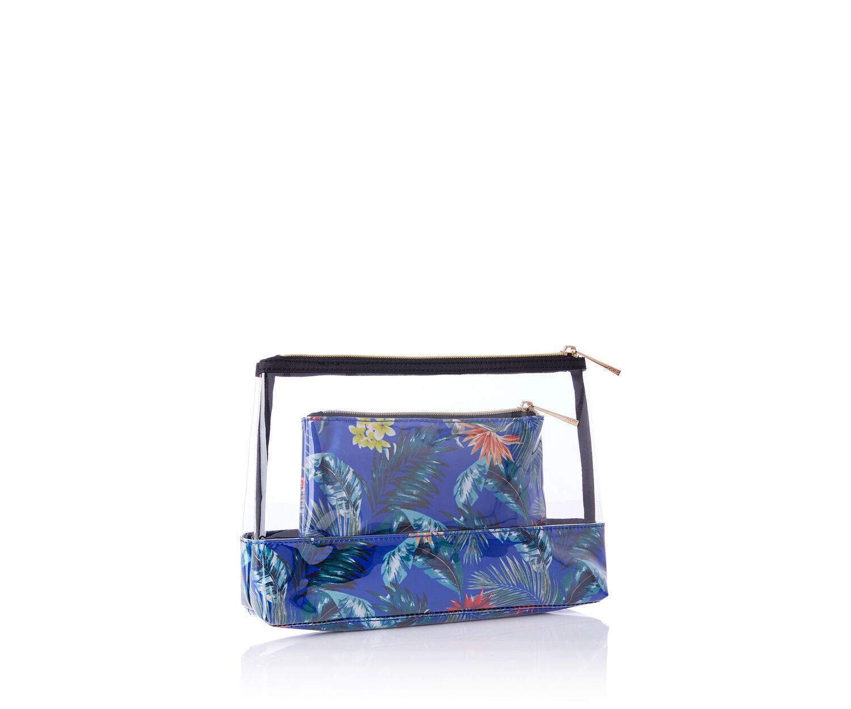 Oasis, TROPICAL WASH BAG Multi Blue 1