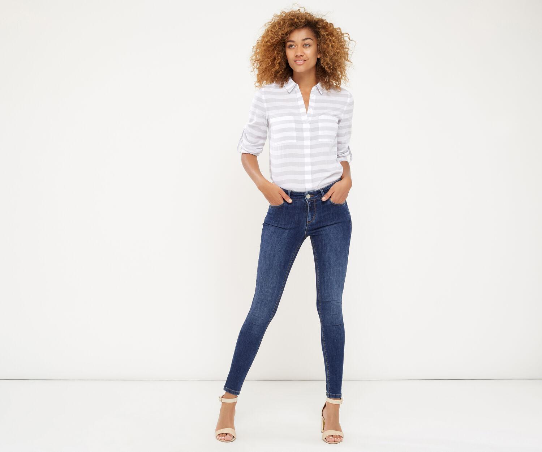 Oasis, Jade Classic Skinny Jeans Denim 1