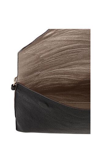 Oasis, REVERSIBLE CLUTCH BAG Multi Black 4