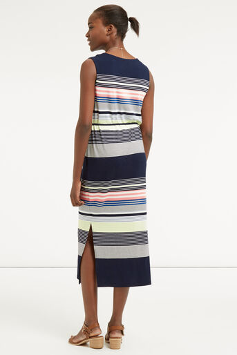 Oasis, Stripe Midi Dress Multi 3