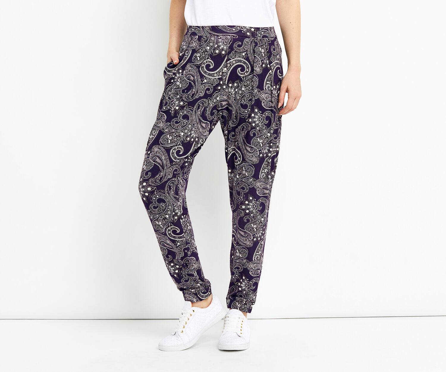 Oasis, PRINTED TROUSERS Multi 1