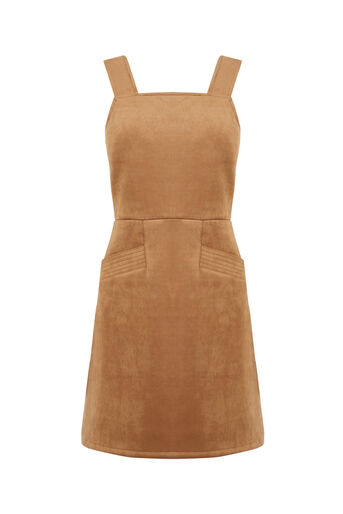 Oasis, SUEDETTE DRESS Tan 0