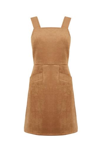 Oasis, SUEDETTE DRESS Tan 0