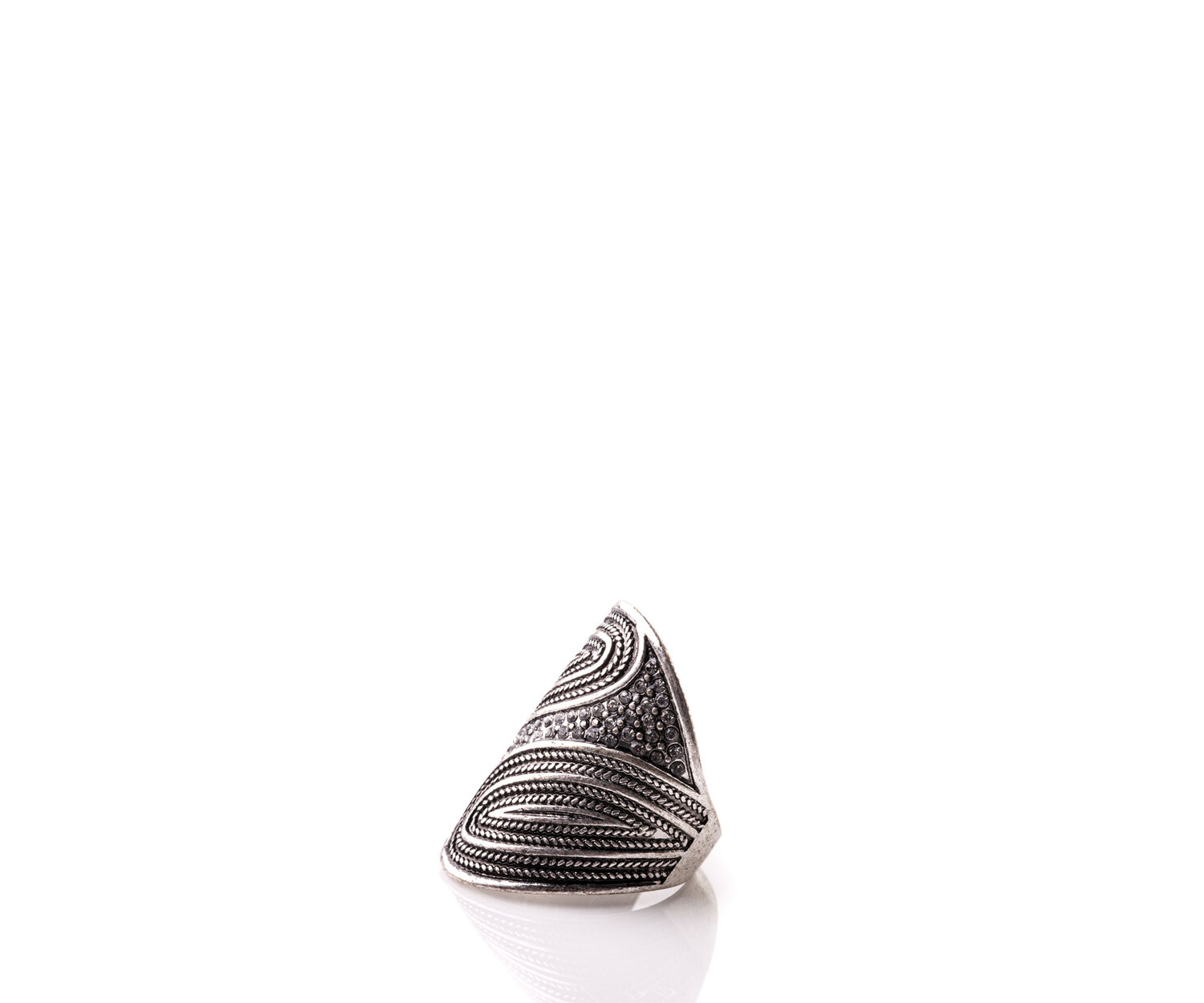 Oasis, SHIELD RING Silver 1