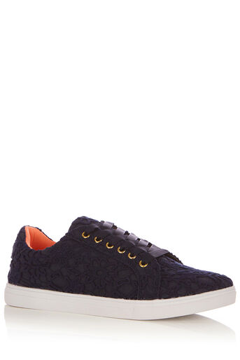 Oasis, LUCY LACE TRAINER Navy 0