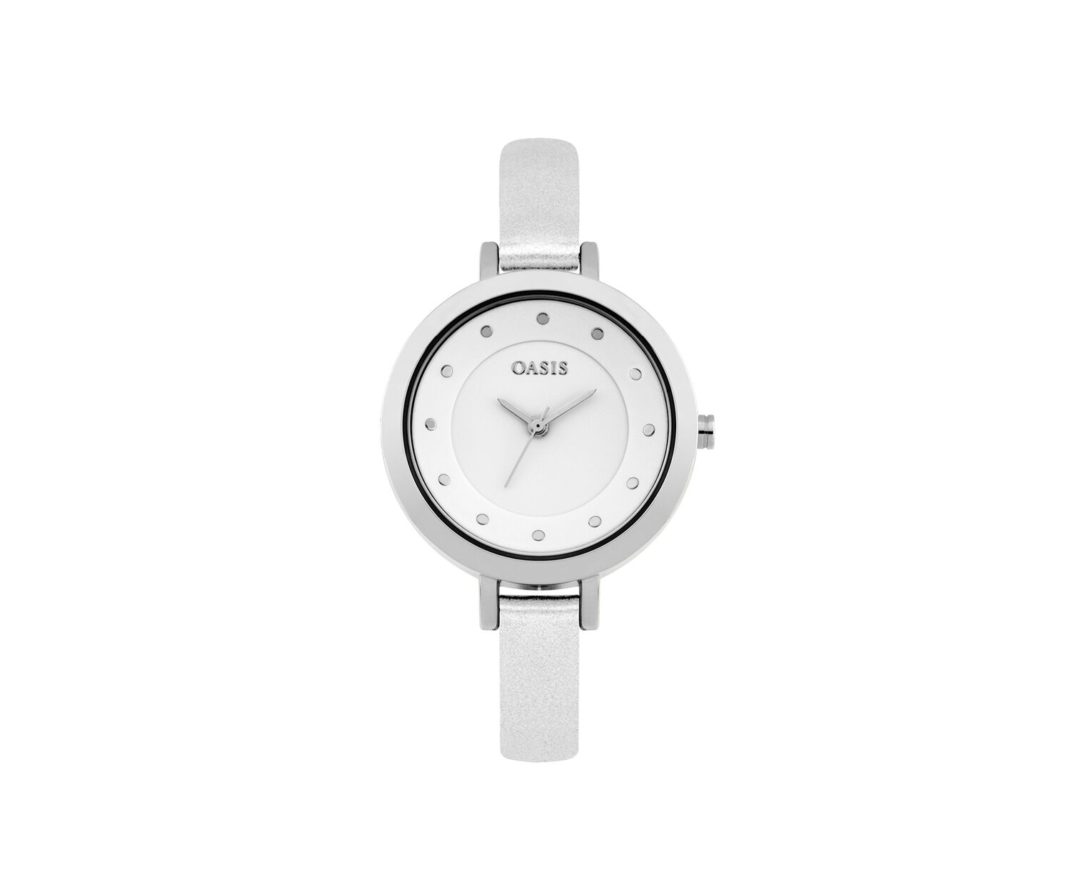 Oasis, Minimalist Watch White 0