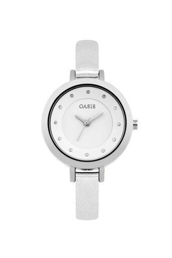 Oasis, Minimalist Watch White 0