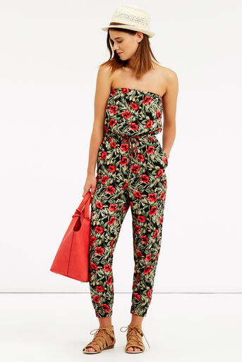 Oasis, Tropical Bandeau Jumpsuit Multi 2
