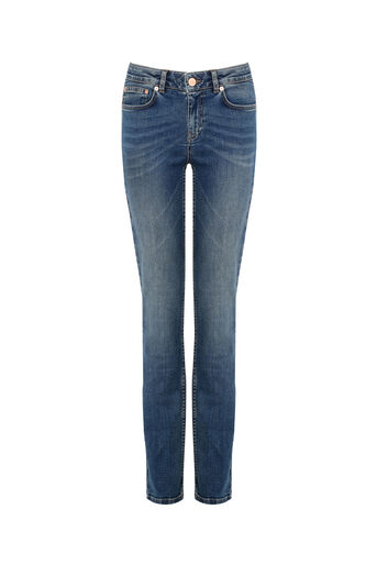 Oasis, Daisy straight leg jean Denim 0