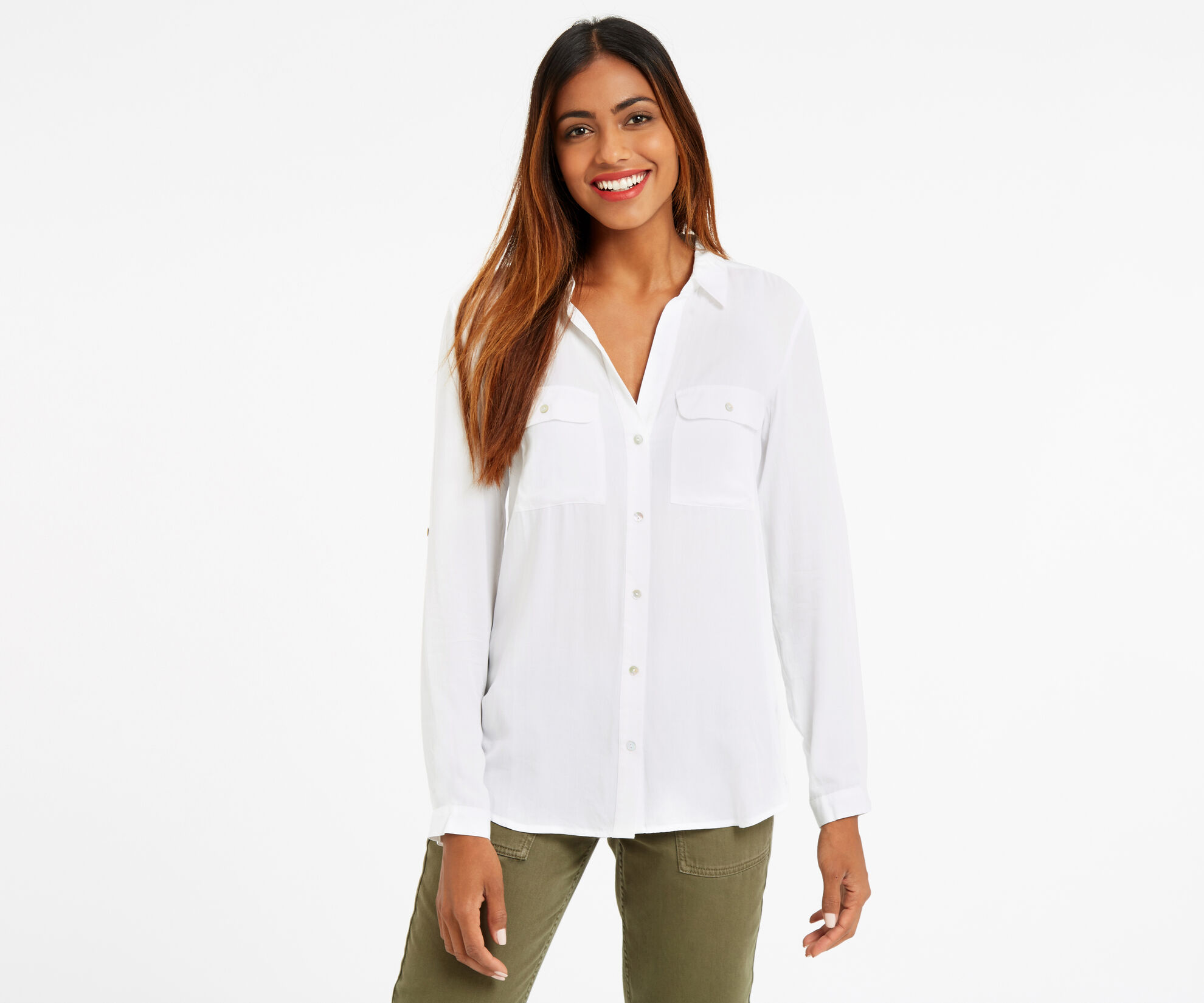 Oasis, WEEKEND SHIRT Off White 1