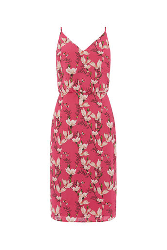 Oasis, SHORT MAGNOLIA CAMI DRESS Multi Pink 0