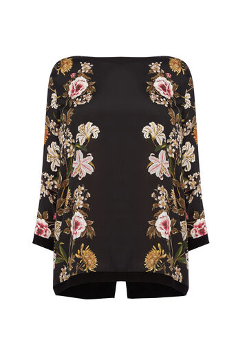 Oasis, Mirror Opium Woven Front Black 0