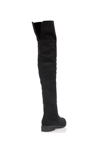 Oasis, BROOKE LONG FLAT BOOT Black 4