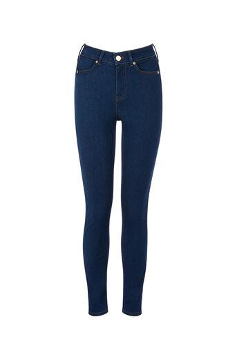 Oasis, Lily Ankle Grazer Jeans Dark Wash 0