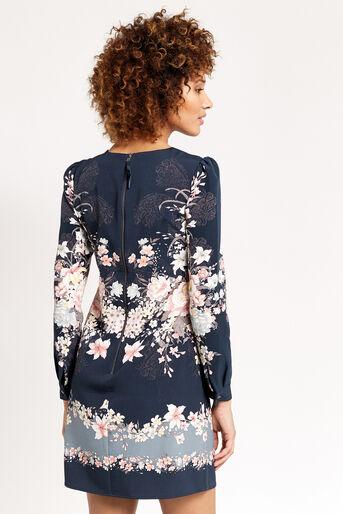 Oasis, LOTUS SHIFT DRESS Multi 3