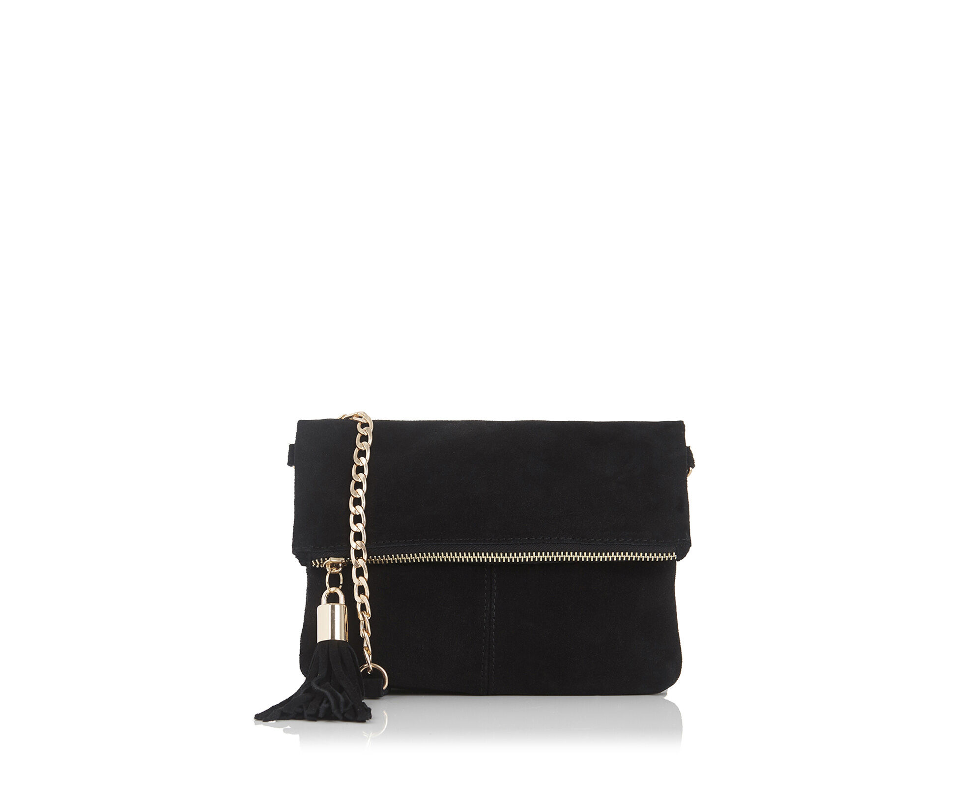 Oasis, Suede Ora Cross-Body Bag Black 0