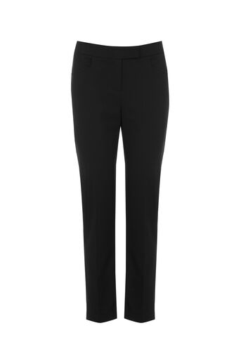Oasis, CLARA WORKWEAR TROUSER Black 0