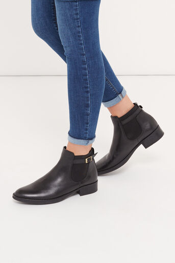 Oasis, AMBER CHELSEA BOOT Black 1