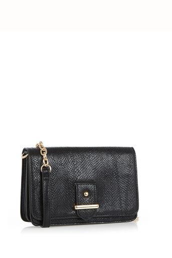 Oasis, Margo Cross-Body Bag Black 2