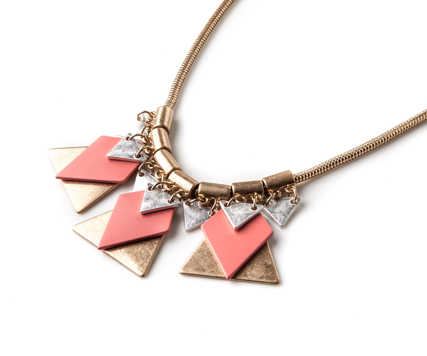 Oasis, GEOMETRIC NECKLACE Gold 1