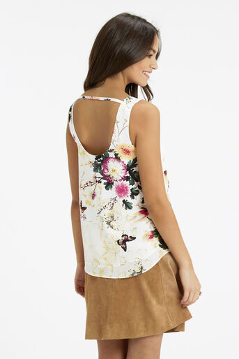 Oasis, Botany And Butterfly Vest Multi Natural 3