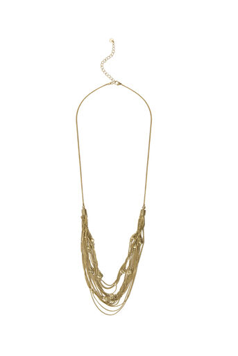 Oasis, MULTI CHAIN NECKLACE Gold 0