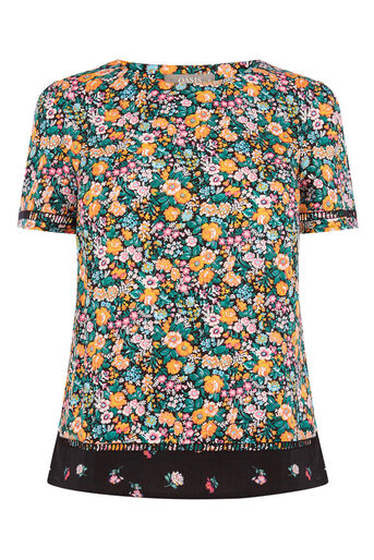 Oasis, DITSY TEE Multi Natural 0