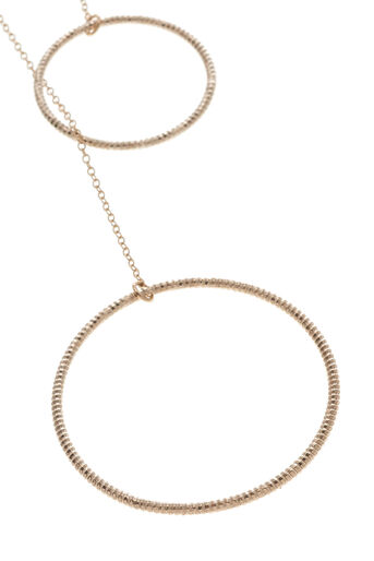 Oasis, PULL THROUGH NECKLACE Gold 1
