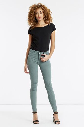 Oasis, Jade Skinny Jeans Pale Grey 2