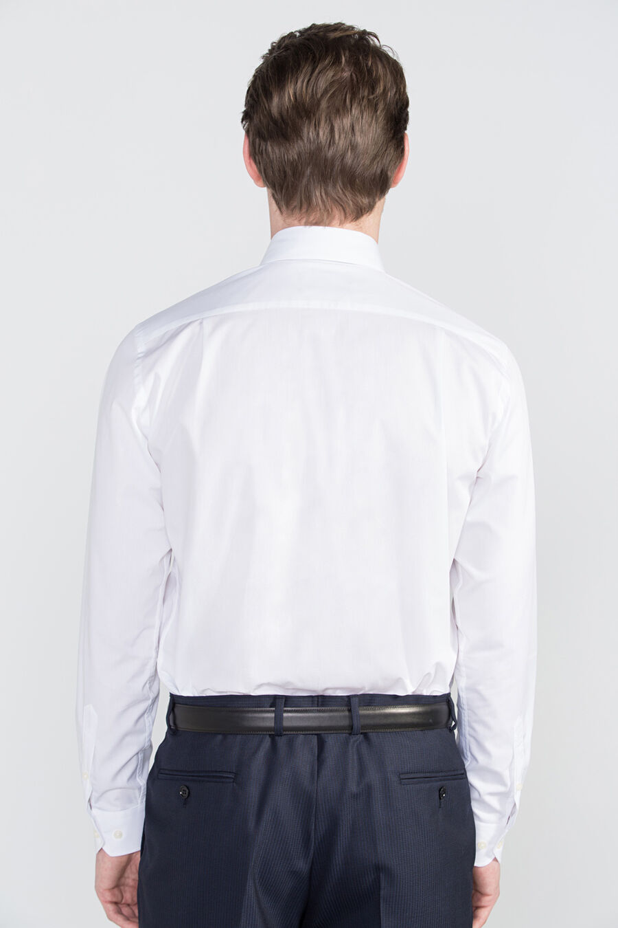 Classic plain dress shirt